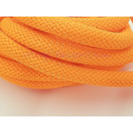 Cuerda escalada 10 mm grosor. Color naranja  (90 cm)