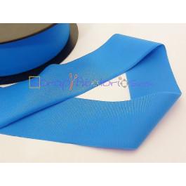 Cordon Lycra 30 mm. Color azul  (50 cm )