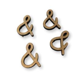 """Letra """"&"""" tamaño y tipografia nombres por encargo"""