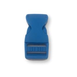 Cierre polipropileno para mochilas, pulseras, .. 20 mm - Azul