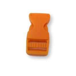 Cierre polipropileno para mochilas, pulseras, .. 20 mm - Naranja