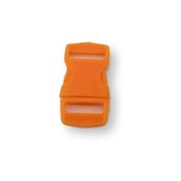 Cierre polipropileno para mochilas, pulseras, .. 10 mm - Naranja