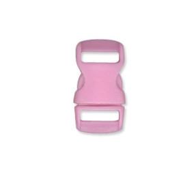 Cierre polipropileno para mochilas, pulseras, .. 10 mm - Rosa