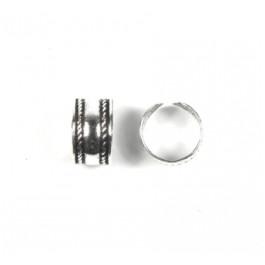 Pendiente de Cartilago earcuff en plata de ley - Aro labrado - 1 ud