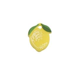 Limon con hojitas - Colgante de plexy 15x12 mm