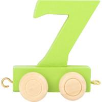 Articulo bebe - Tren de Letras y Numeros - Numero 7 - 5x3x6 cm