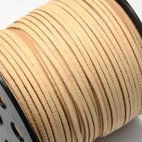 Cordón de antelina 2.5 mm arena  (1 metro)