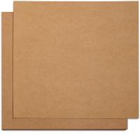 Cartulina cardstock 30x30 cm- 300 gr - Kraft liso - Anita y su mundo