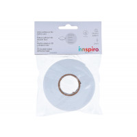 Cinta adhesiva espuma 3D, 2 mm grosor; Ancho 1.9 cm. 2.29 metros