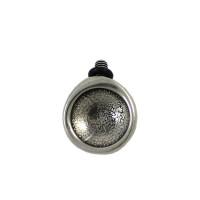 Complemento para pulsera base para cristal redondo 25x21 mm (CN16-)