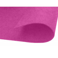 Lamina A4 fieltro Adhesivo- 30x20 cm, 2 mm espesor - Fucsia