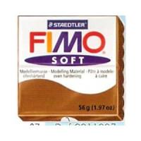 Fimo Soft pastilla 56 gramos color CARAMELO 07