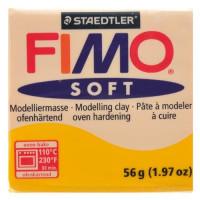 Fimo Soft pastilla 56 gramos color AMARILLO SOL 016