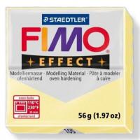 Fimo Soft Effect, pastilla 56 g, color 105 Vainilla pastel