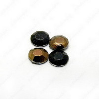 Strass cristal 3 mm colores bronce y negro ( 1 gramo)