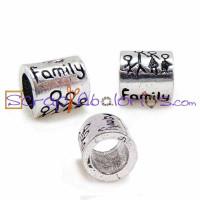 Tubo familiy compatible 9x8 mm, taladro 5 mm