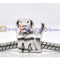 Entrepieza  perro perrito 13x12 mm, taladro 4.7 mm