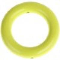 Aro mediano madera PREMIUM- 50x12 mm- Color Verde Limon 26