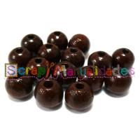 Bolita de madera antibaba 12 mm Color Marron