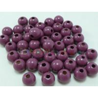 Bolita de madera antibaba 12 mm Color Violeta