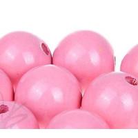 Bolita de madera antibaba 18 mm - Color Rosa claro 03