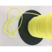 Bobina de cordon sintetico polipropileno 1.5mm -Amarillo- 100 m