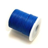 Bobina cuero azul 1 mm ( 25 metros)