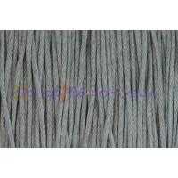 Cordon algodon 1 mm gris claro (1 metro)