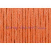 Cordon algodon 1 mm naranja claro (1 metro)