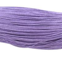 Cordon algodon encerado  1.5 mm violeta ( 1 metro)