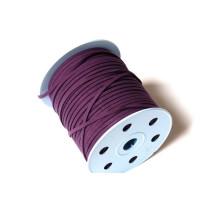Cordón de antelina 3 mm morada ( 1 metro)