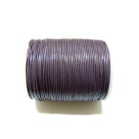 Cordon cuero violeta 1 mm ( 1 metro)