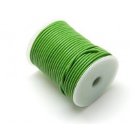 Cordon cuero color verde pistacho 2 mm (1 metro)
