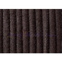 Cuero Piel serraje 4 mm color marron oscuro (20 cm)