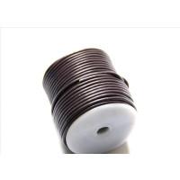 Cordón cuero color violeta 2.5 mm ( 1 metro)
