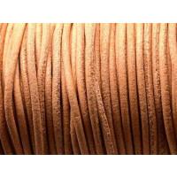Cuero nacional alta calidad 2.5 mm color NATURAL 1 metro)