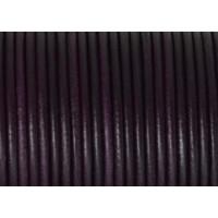 Cuero nacional alta calidad 2.5 mm color ciruela (1 metro)