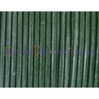 Cuero nacional alta calidad 2.5 mm color pistacho metaliz (1 m)