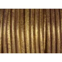 Cuero nacional alta calidad 4.5 mm color ORO VIEJO  (1 metro)
