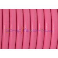 Cuero nacional alta calidad 4.5 mm color FUCSIA  (1 metro)
