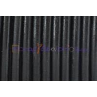 Cuero nacional alta calidad 4.5 mm color NEGRO (1 metro)