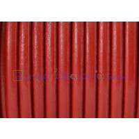 Cuero nacional alta calidad 4.5 mm color ROJO (1 m)
