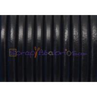 Cuero nacional alta calidad 5 mm color NEGRO (1 metro)
