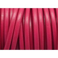 Cuero nacional alta calidad 5 mm color FUCSIA (1 metro)