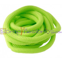 Cuerda escalada 10 mm grosor. Color verde claro. (90 cm)