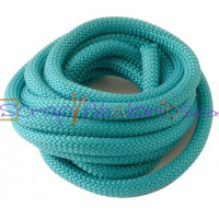 Cuerda escalada 10 mm grosor. Color AZUL PETROL(90 cm)
