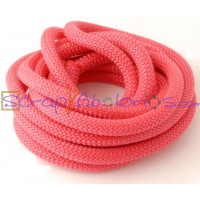 Cuerda escalada 10 mm grosor. Color fucsia. (90 cm)