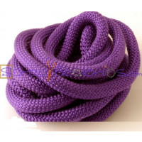 Cuerda escalada 10 mm grosor. Color morado. (90 cm)