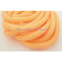 Cuerda escalada 10 mm grosor. Color naranja fluor. (90 cm)
