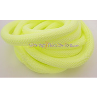 Cuerda escalada 10 mm grosor. Color amarillo fluor pastel (90 cm